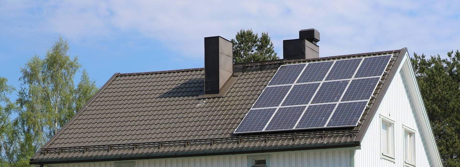 casa panel solar