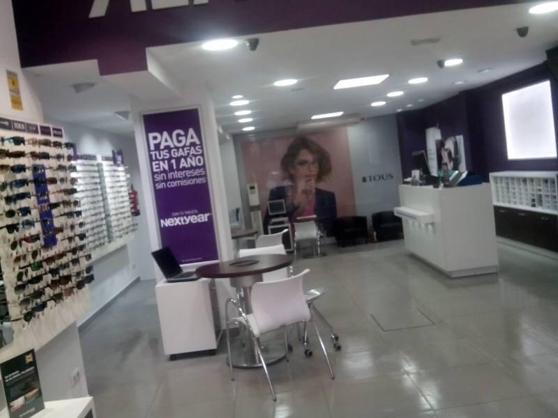 iluminación tienda Afflelou