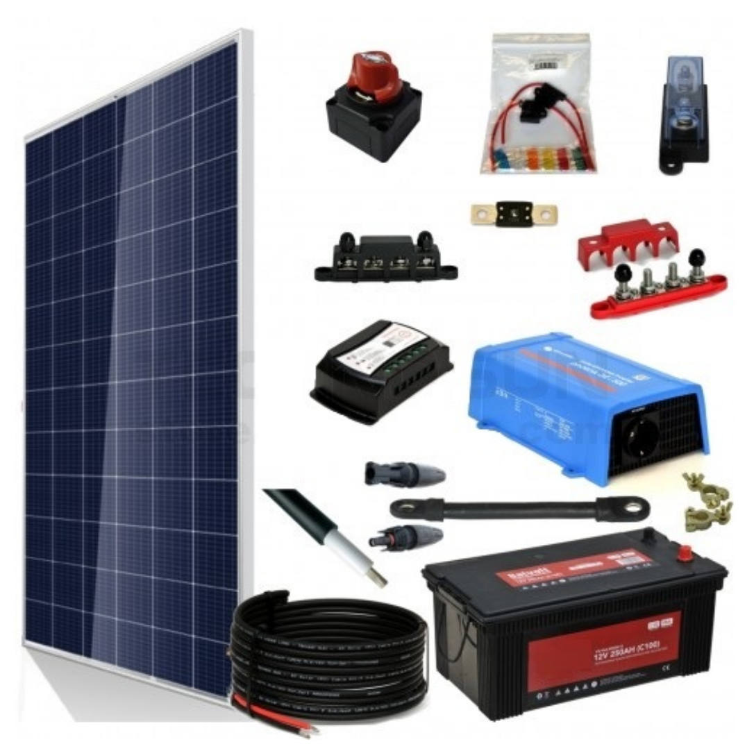 Kit Aislada SolarPack 400w 24v