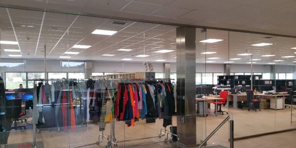 luminarias led oficinas