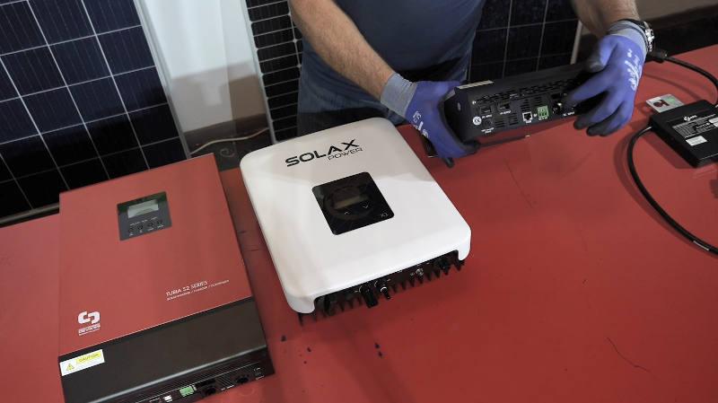 Instalación Solax Power