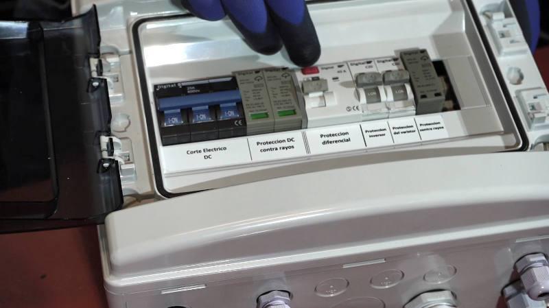 instalacion fotovoltaica bateria litio