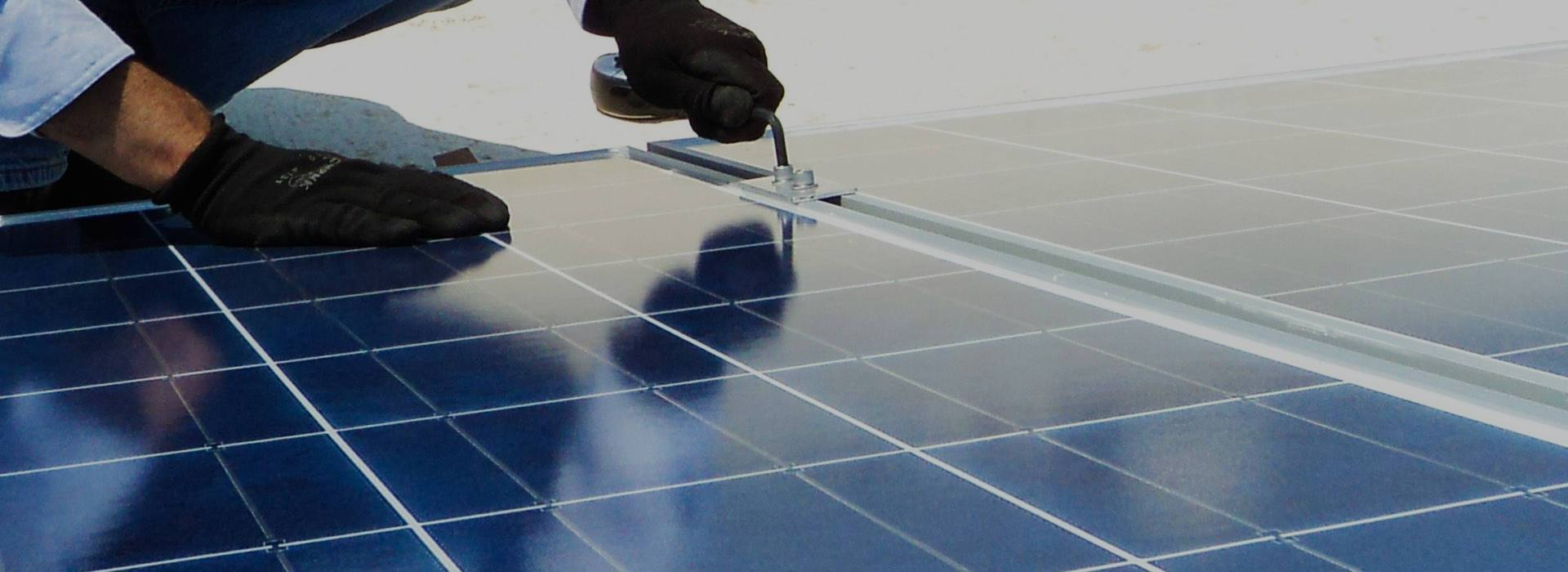 montaje solar